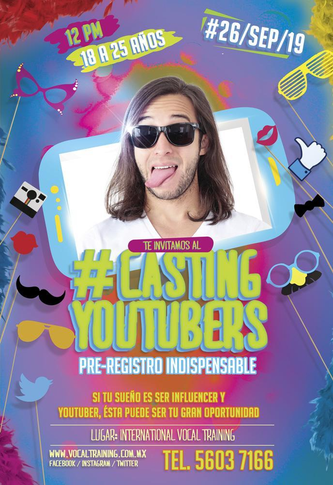 Casting Youtuber Influencer
