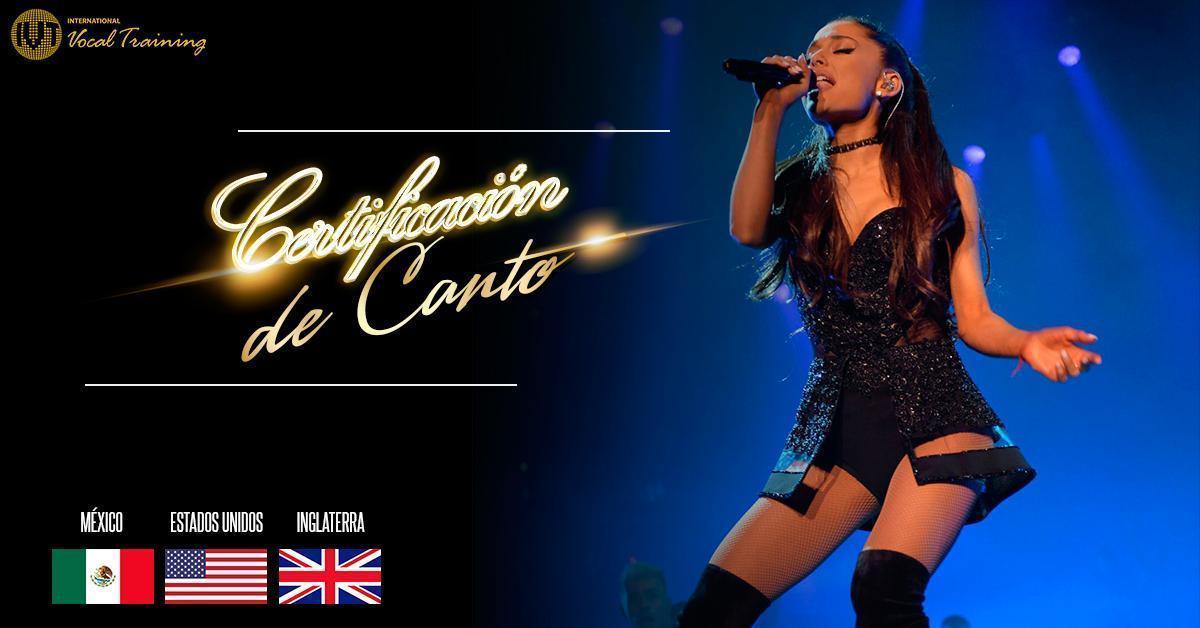 Nueva Certificación de Canto ¡No lo vas a creer!