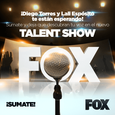 "Casting de Canto ""Fox Latino América – Talent Show"""