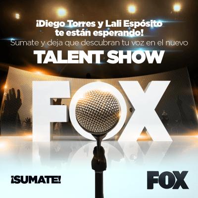 """Casting de Canto """"Fox Latino América – Talent Show"""""""