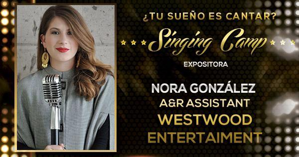 ¡Conoce a la primera invitada al Singing Camp Fantasy!