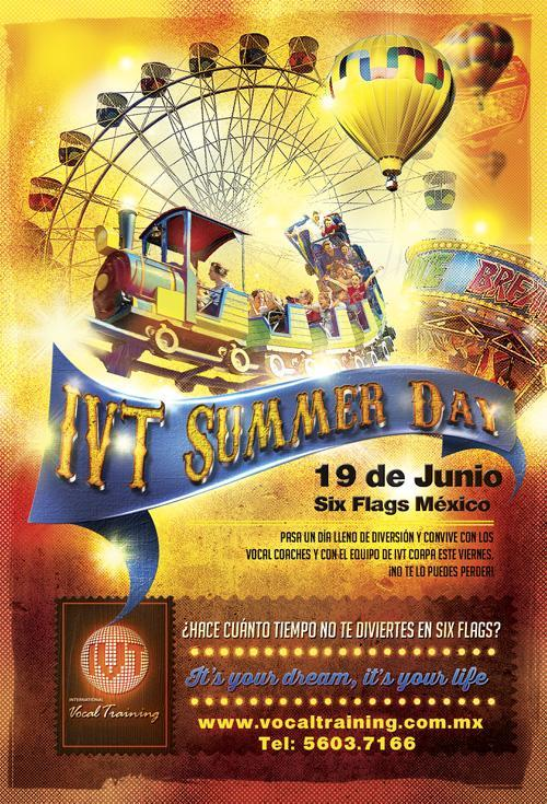 IVT Summer Day ¡Acompáñanos este viernes a SIX FLAGS!
