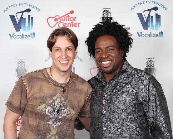 Andre Devon and Eddie Robson - VocalizeU AI 2012