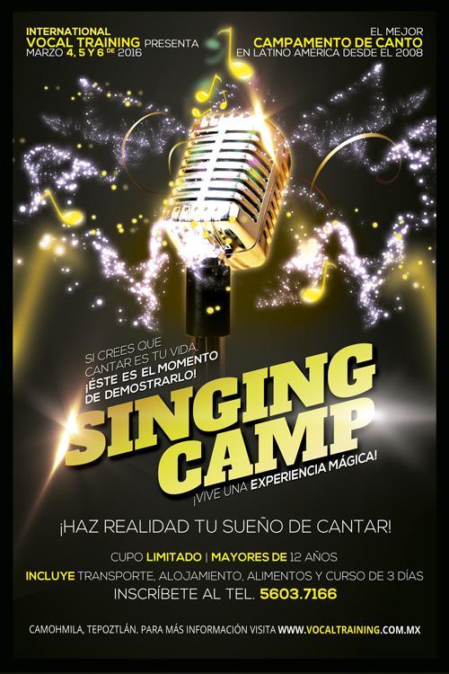 ¡Comienza el Regístro para el Campamento de Canto 2016!
