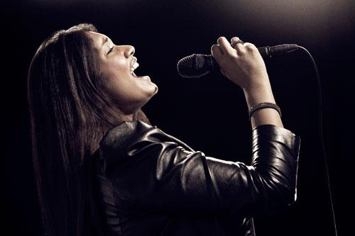Cantante Mujer