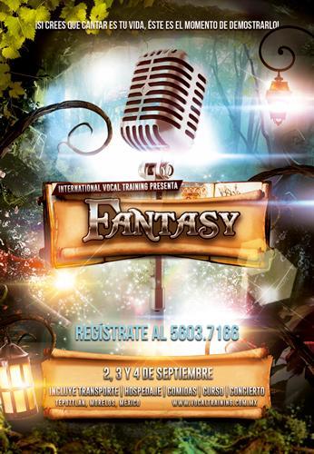 """Regístrate ya al Campamento de Canto """"Fantasy"""""""