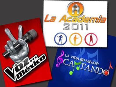 IVT en los realities shows, La Voz... México, La vida es mejor cantando, La Academia