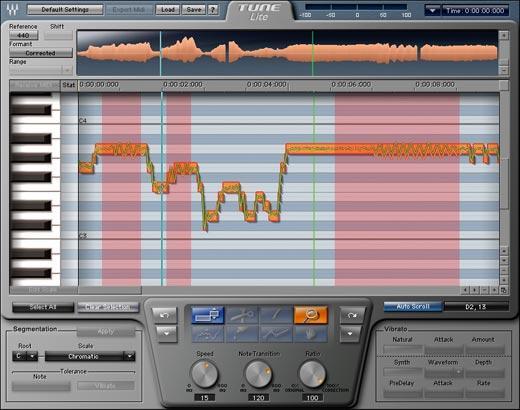 Reseña del plugin - Tune - para afinar voces