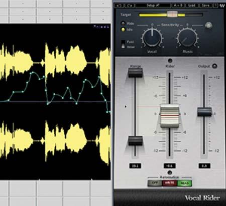 Reseña del plug-in Vocal Rider para voces de Waves