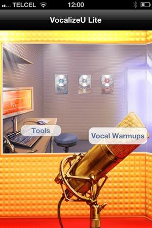IVT Vocal Coach Virtual VocalizeU para iPhone